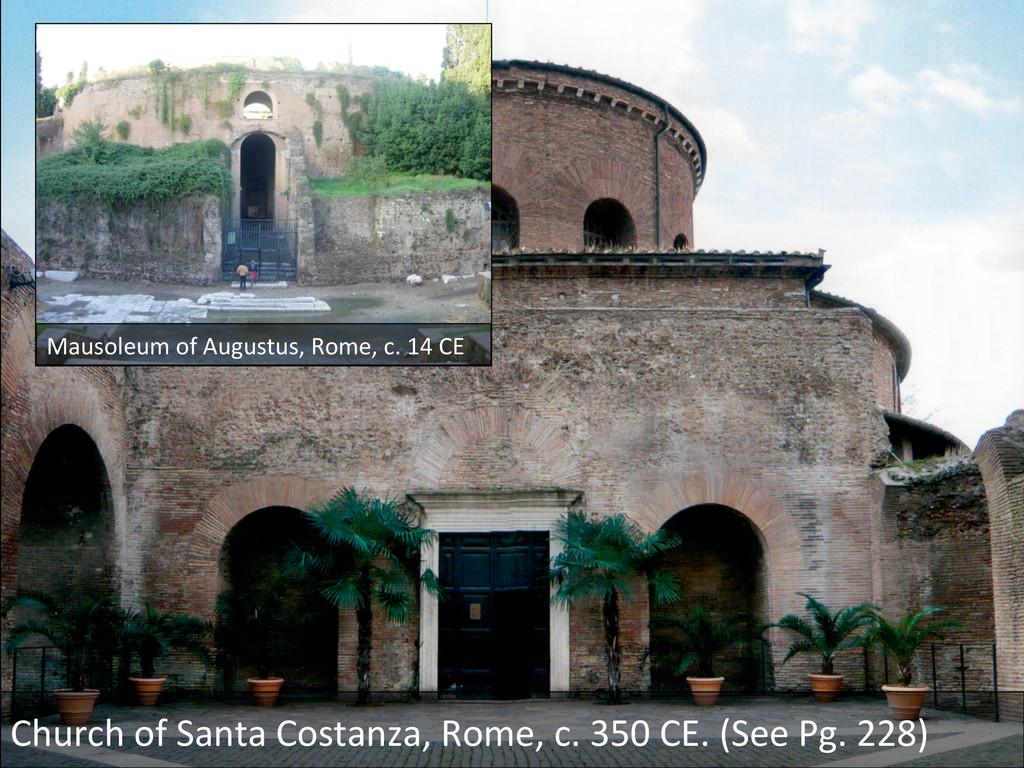 Church of Santa Costanza, Rome, ...