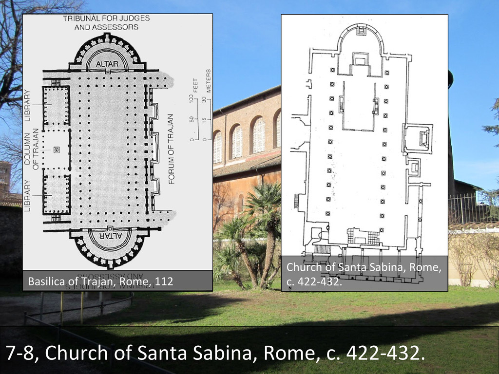 7-‐8, Church of Santa Sabina, R...