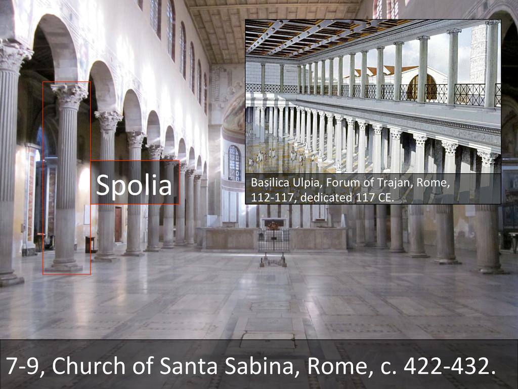 7-‐9, Church of Santa Sabina, R...