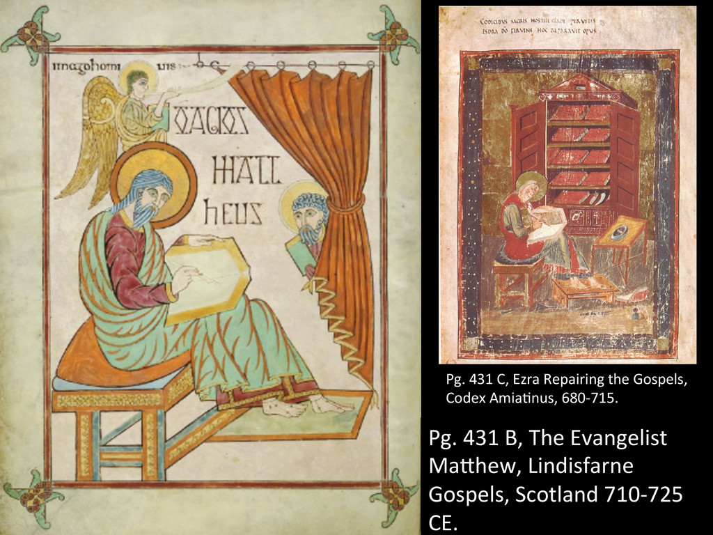 Pg. 431 B, The Evangelist  Ma`he...