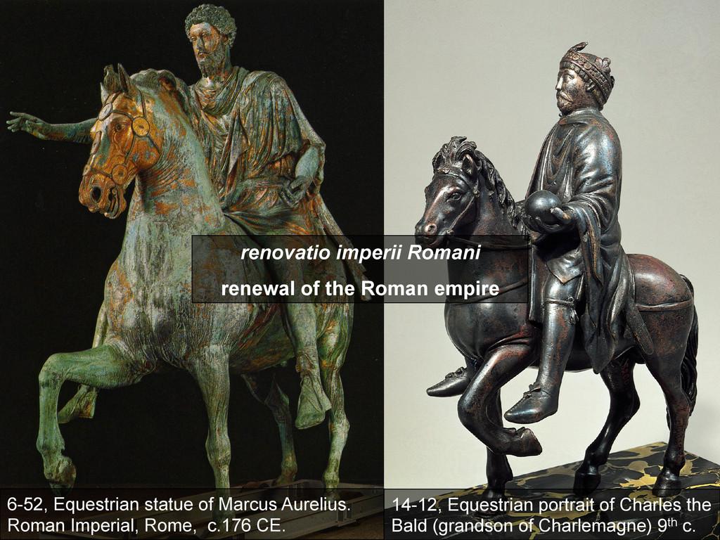 6-52, Equestrian statue of Marcus Aurelius. Rom...