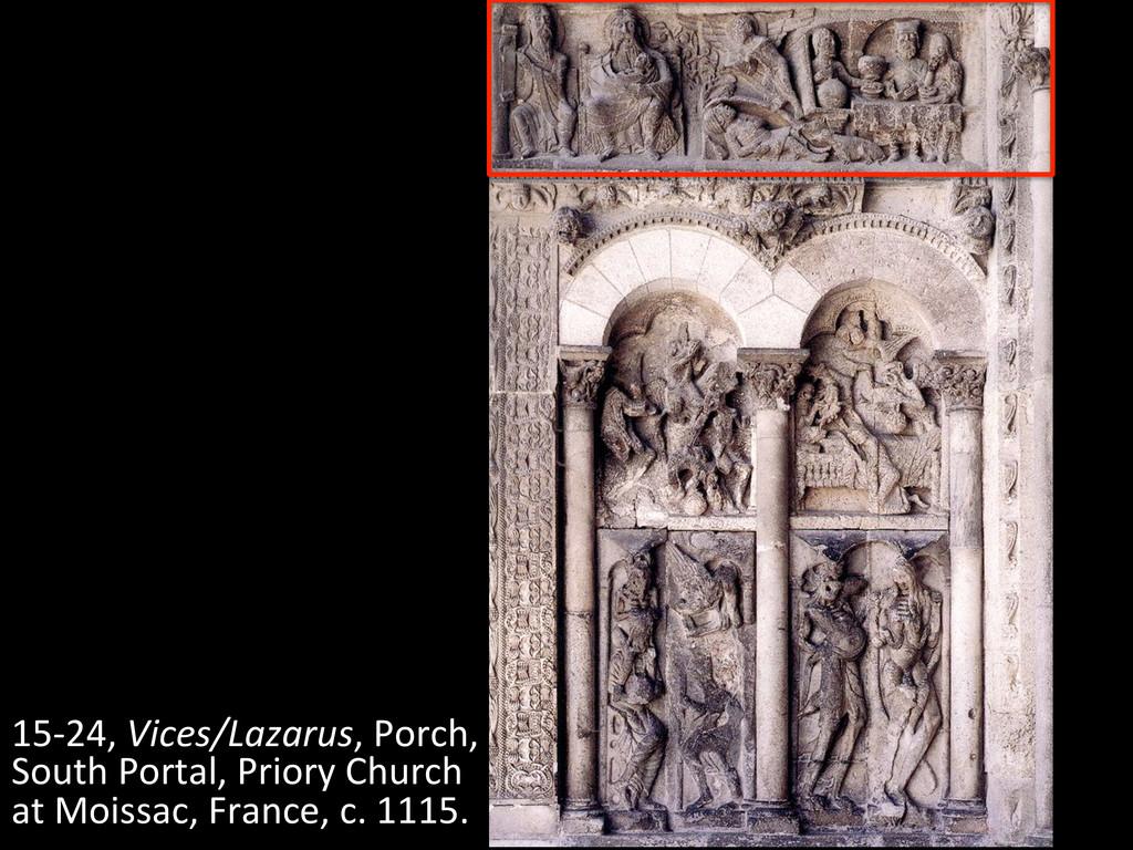 15-‐24, Vices/Lazarus, Porch,  South...