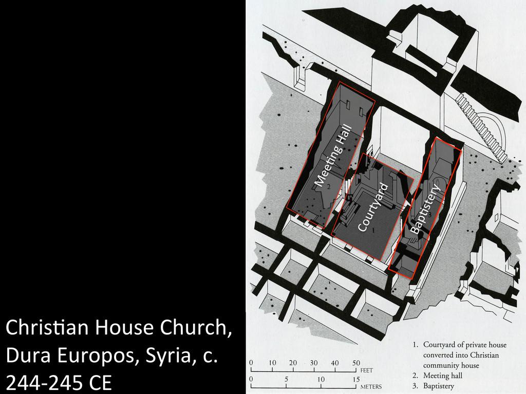 Chris3an House Church,  Dura Europo...