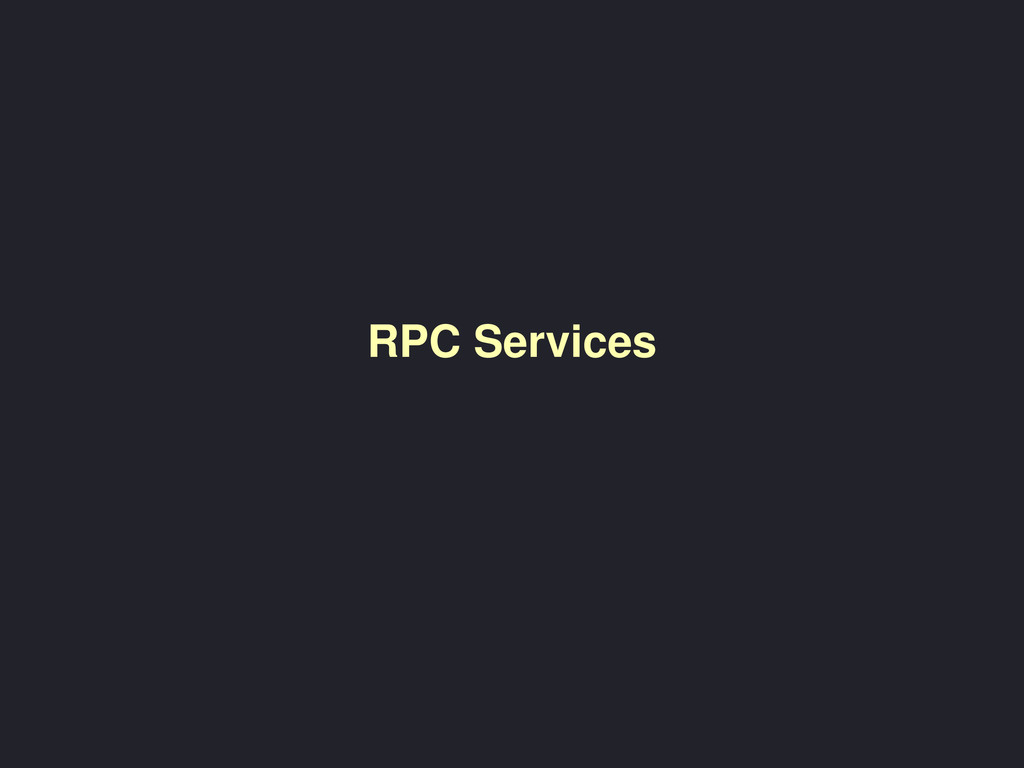 RPC Services