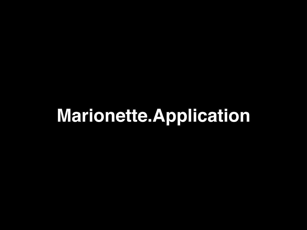 Marionette.Application