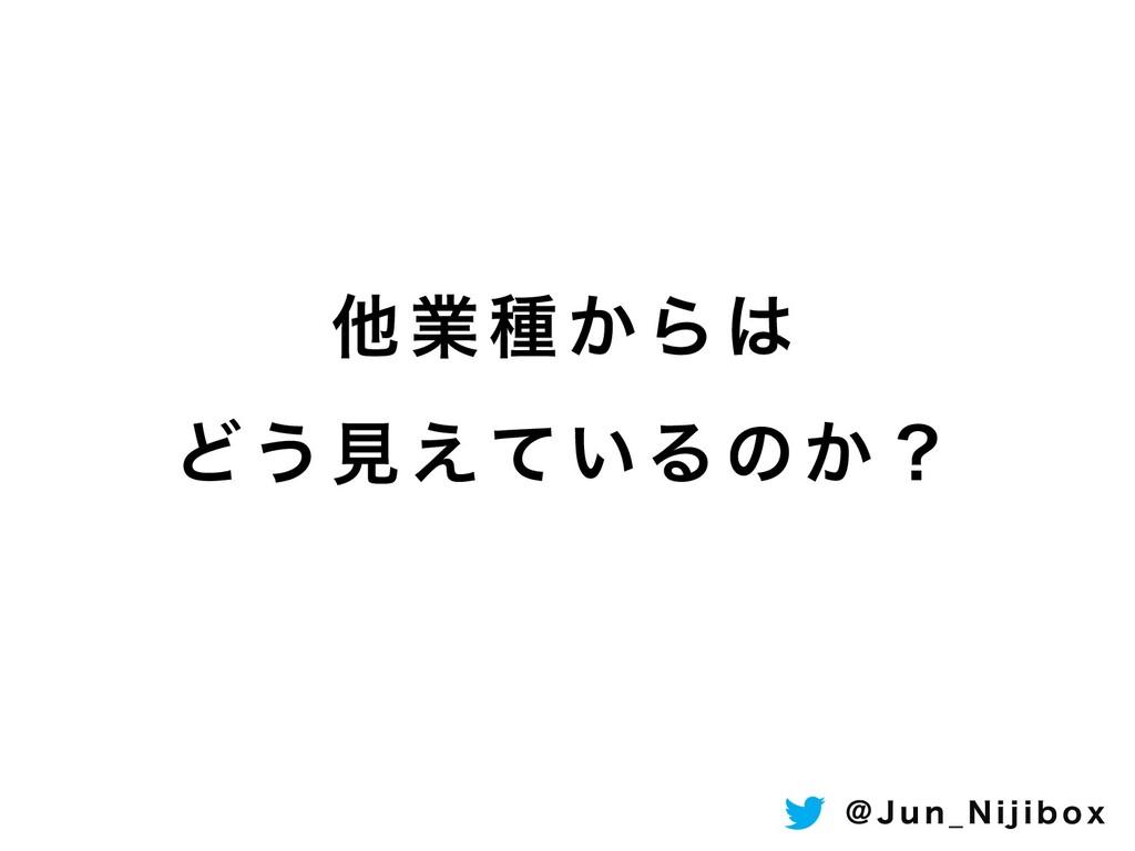 ଞۀछ͔Β Ͳ͏ݟ͍͑ͯΔͷ͔ʁ ! + V O @ / J K J C P Y