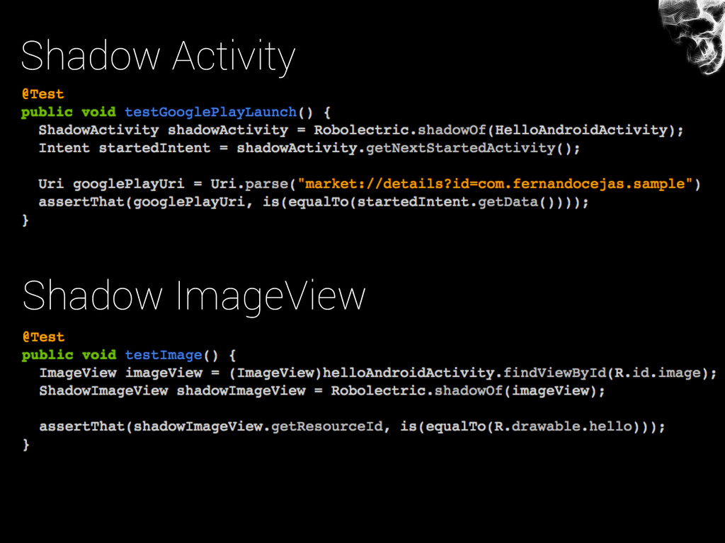 Shadow Activity Shadow ImageView