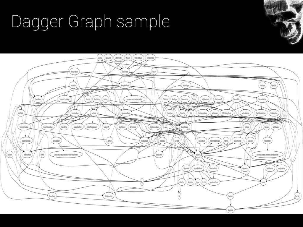 Dagger Graph sample