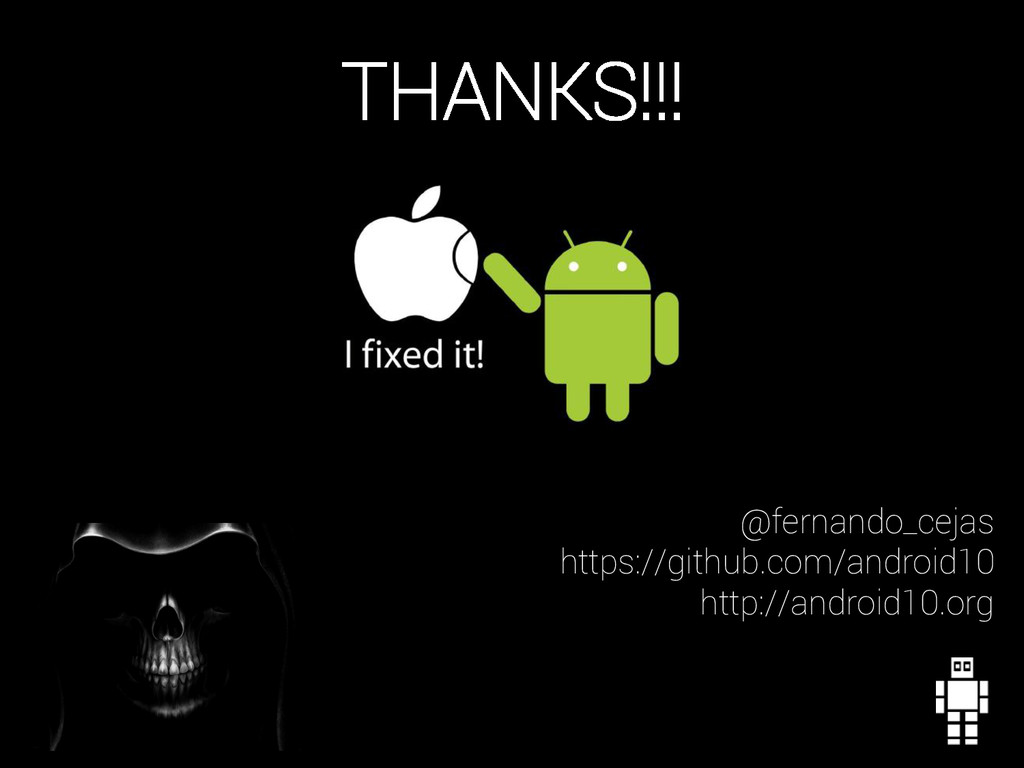 @fernando_cejas https://github.com/android10 ht...
