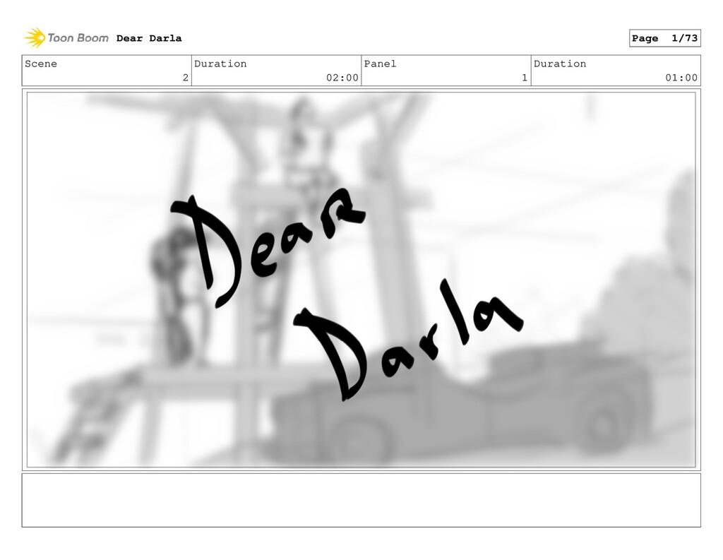 Scene 2 Duration 02:00 Panel 1 Duration 01:00 D...