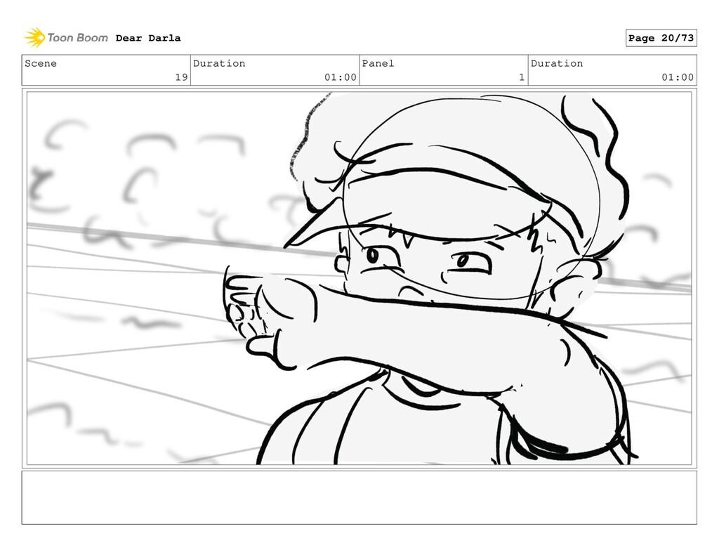 Scene 19 Duration 01:00 Panel 1 Duration 01:00 ...