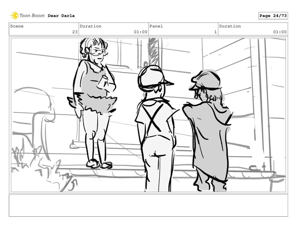 Scene 23 Duration 01:00 Panel 1 Duration 01:00 ...