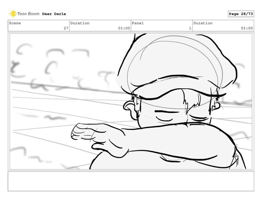 Scene 27 Duration 01:00 Panel 1 Duration 01:00 ...
