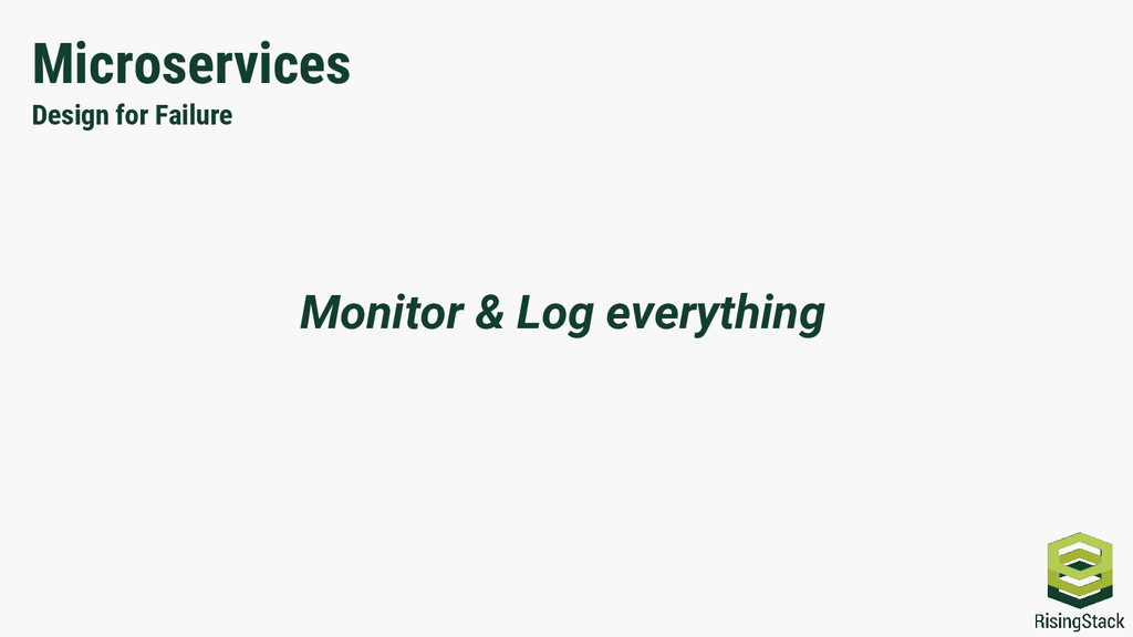 Microservices Design for Failure Monitor & Log ...