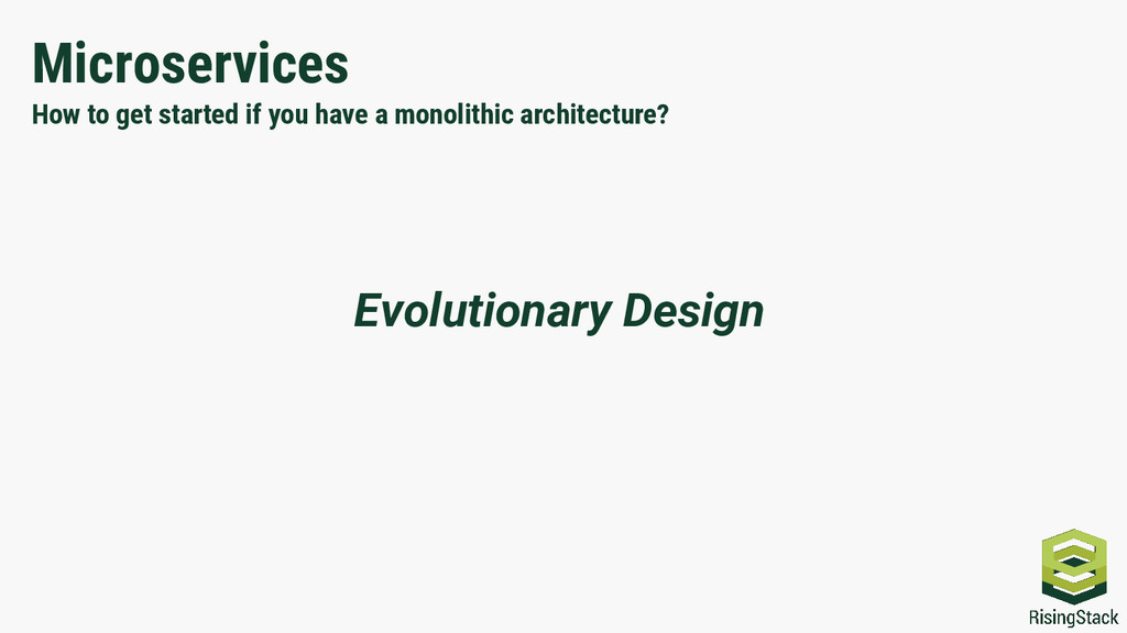 Microservices How to get started if you have a ...