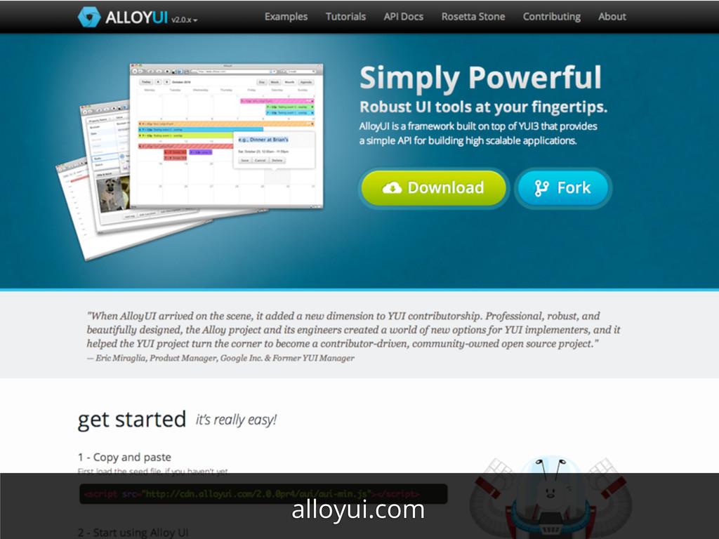 alloyui.com