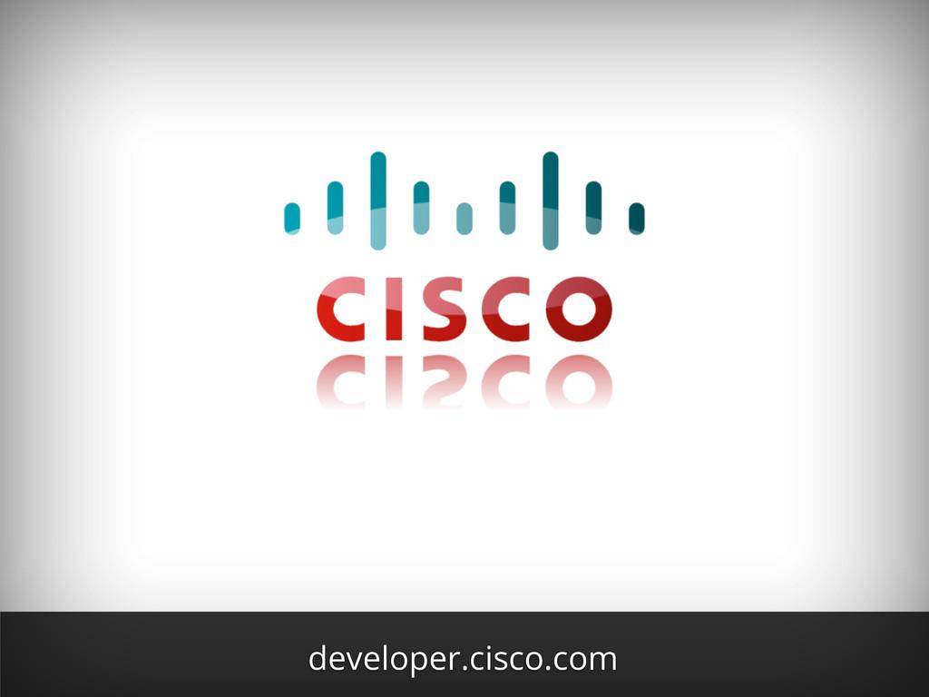 developer.cisco.com