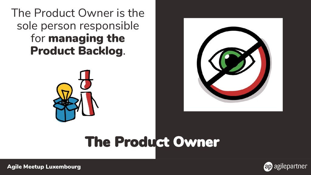 Agile Meetup Luxembourg The Product Owner The P...