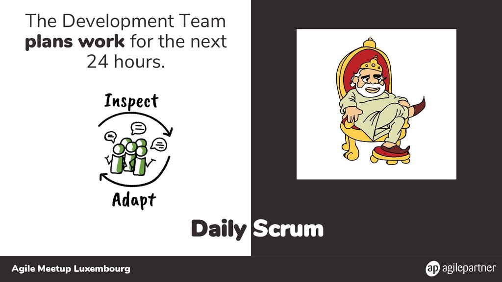 Agile Meetup Luxembourg Daily Scrum The Develop...