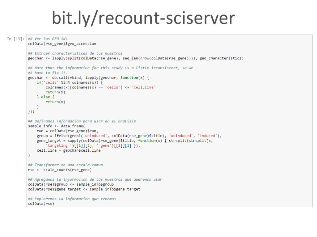 bit.ly/recount-sciserver