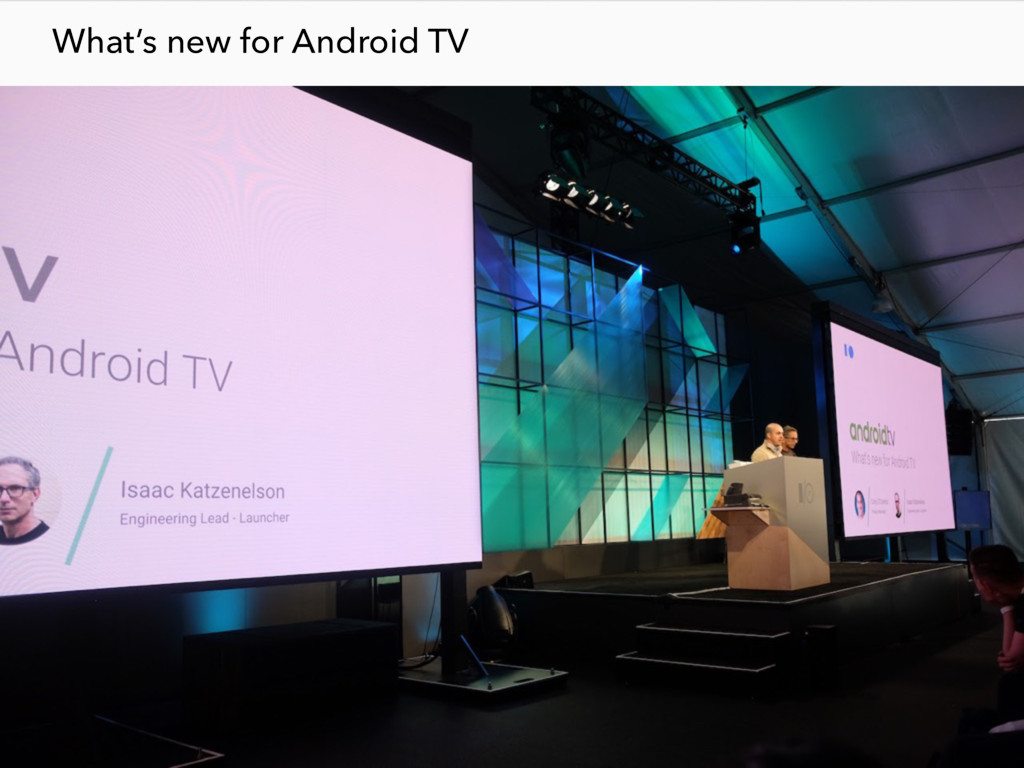 What's new for Android TV