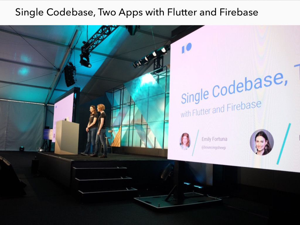 Single Codebase, Two Apps with Flutter and Fire...