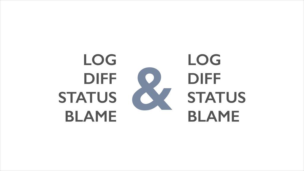 LOG LOG DIFF DIFF STATUS STATUS BLAME BLAME &