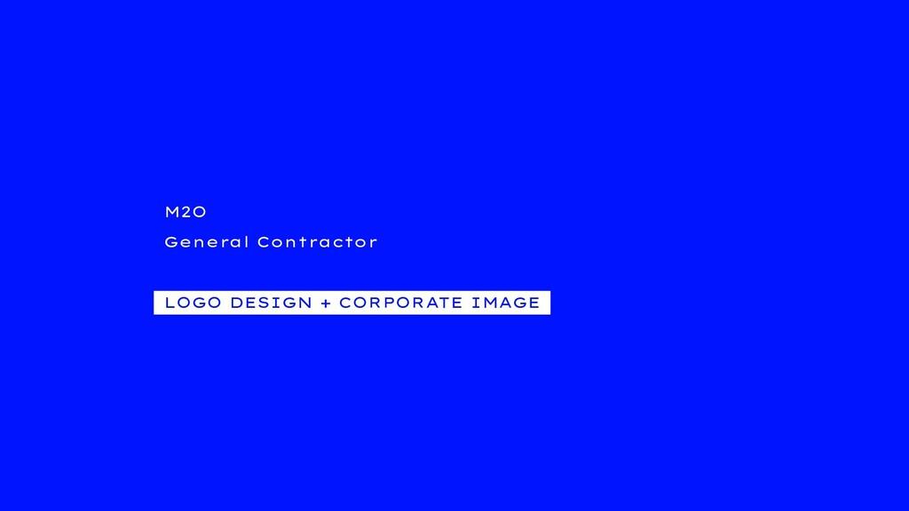 M2O General Contractor LOGO DESIGN + CORPORATE ...