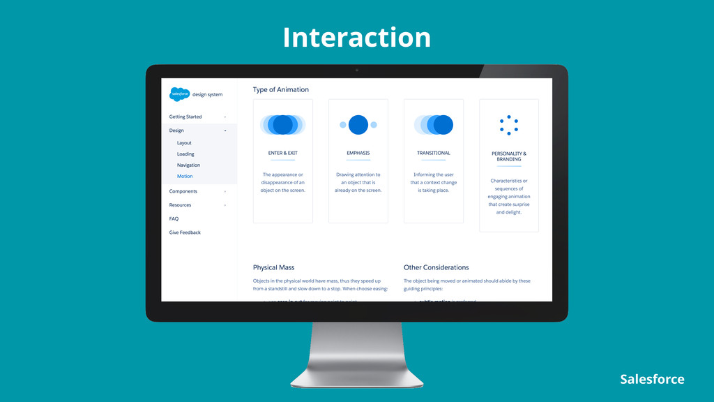 Interaction Salesforce