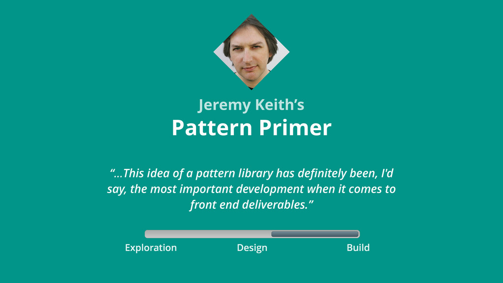 Exploration Build Design Pattern Primer Jeremy ...