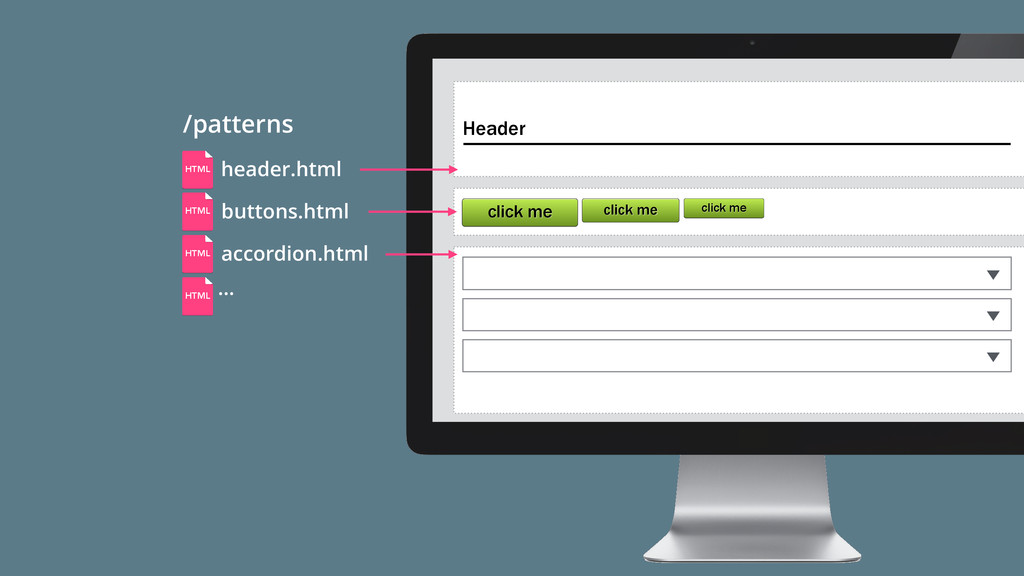 /patterns … HTML HTML HTML HTML click me click ...