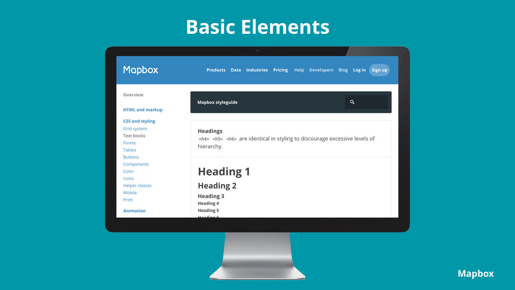 Basic Elements Mapbox