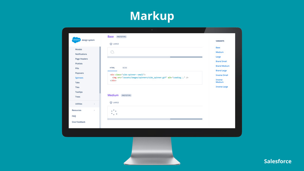 Markup Salesforce