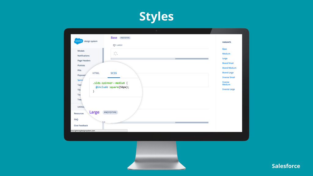 Styles Salesforce