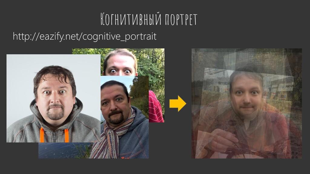 Когнитивный портрет http://eazify.net/cognitive...