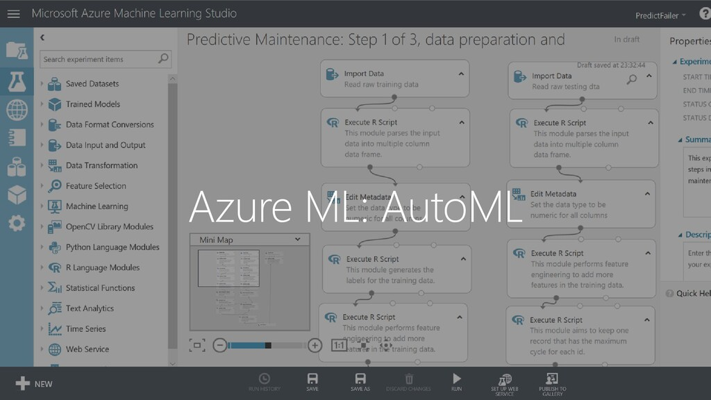 Azure ML: AutoML