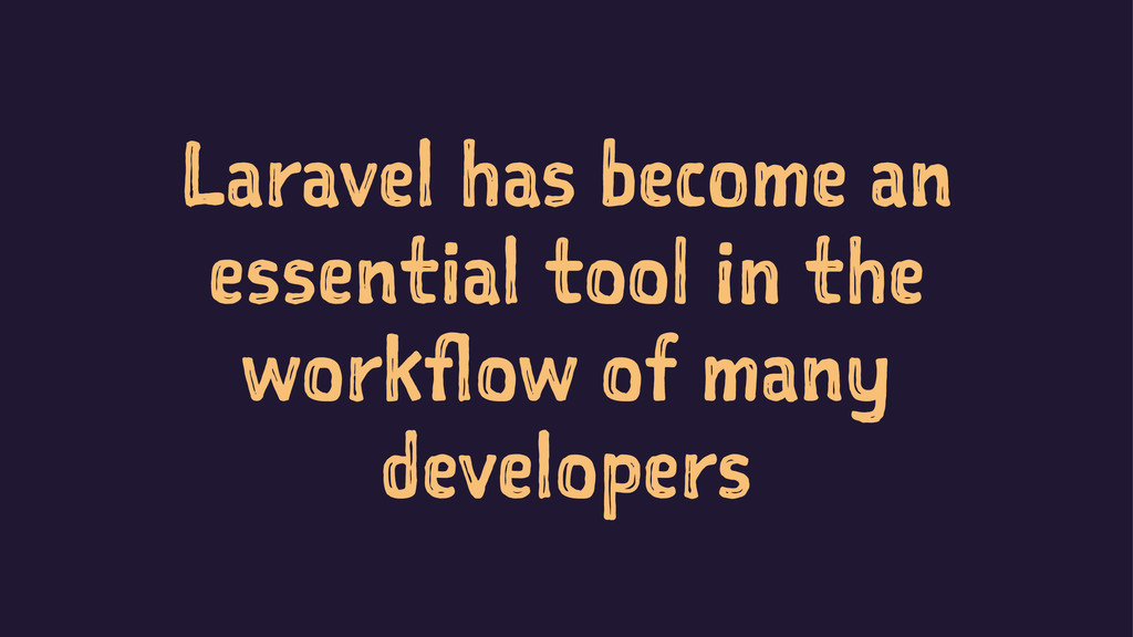 Laravel has become an essential tool in the wor...