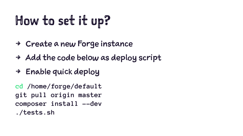 How to set it up? 4 Create a new Forge instance...