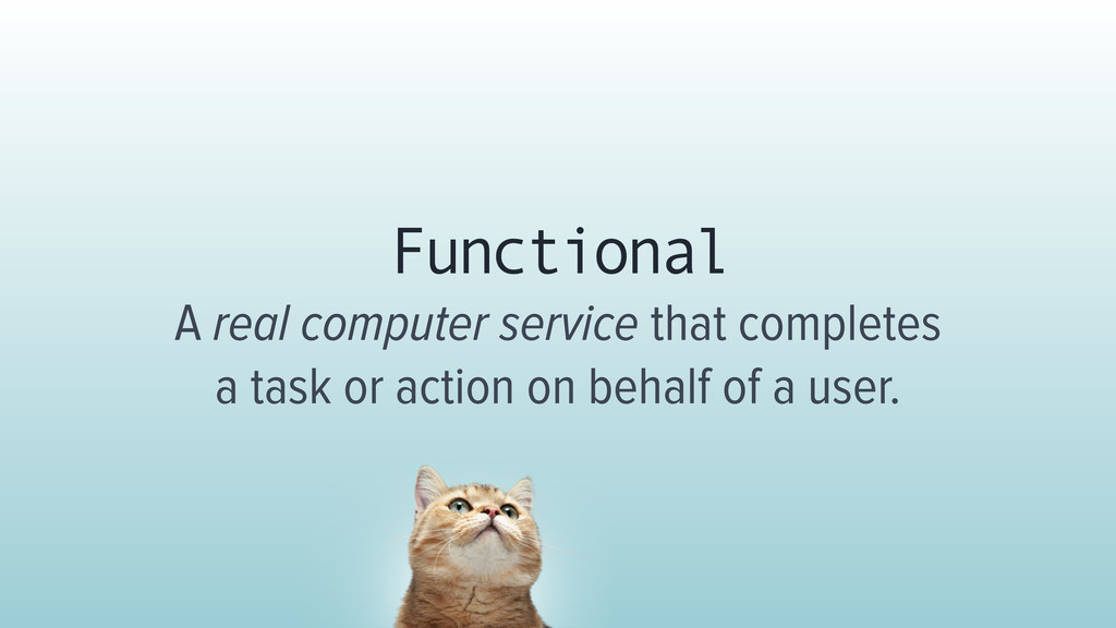 Functional