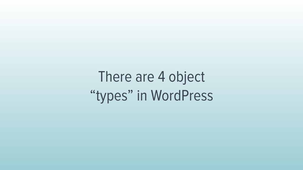 There are 4 object