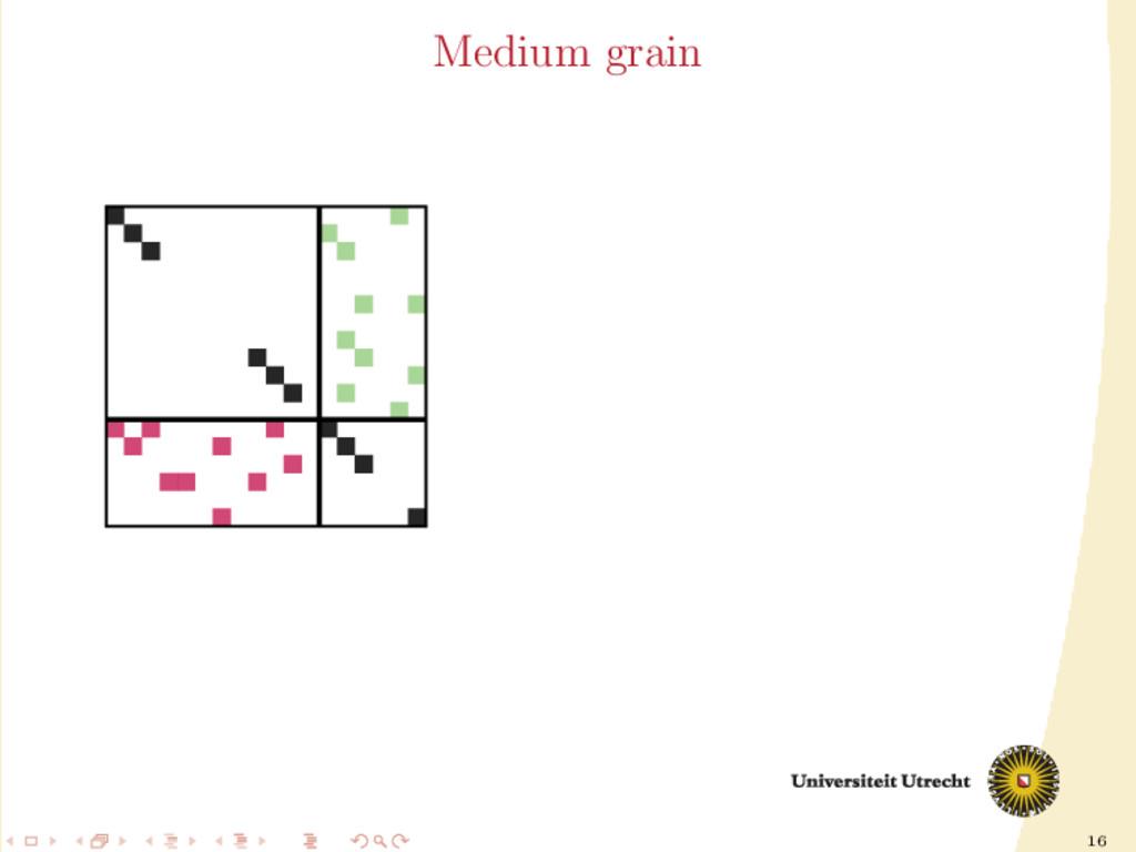 16 Medium grain