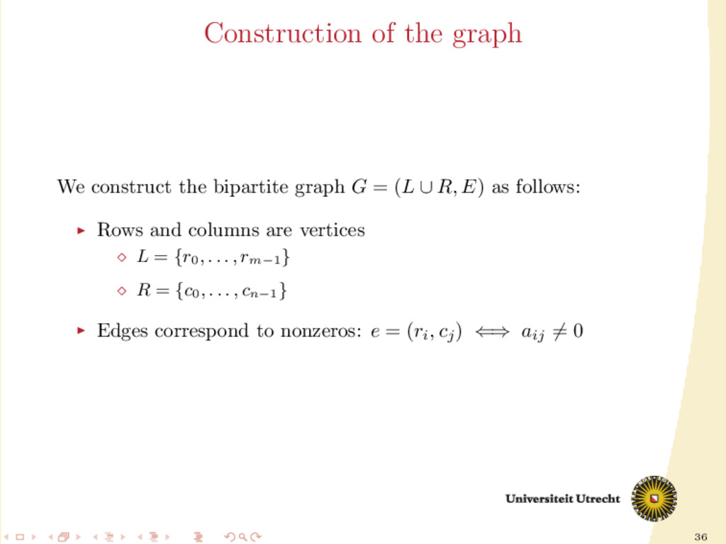 36 Construction of the graph We construct the b...