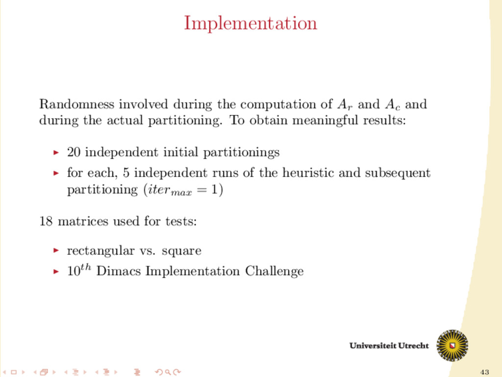 43 Implementation Randomness involved during th...