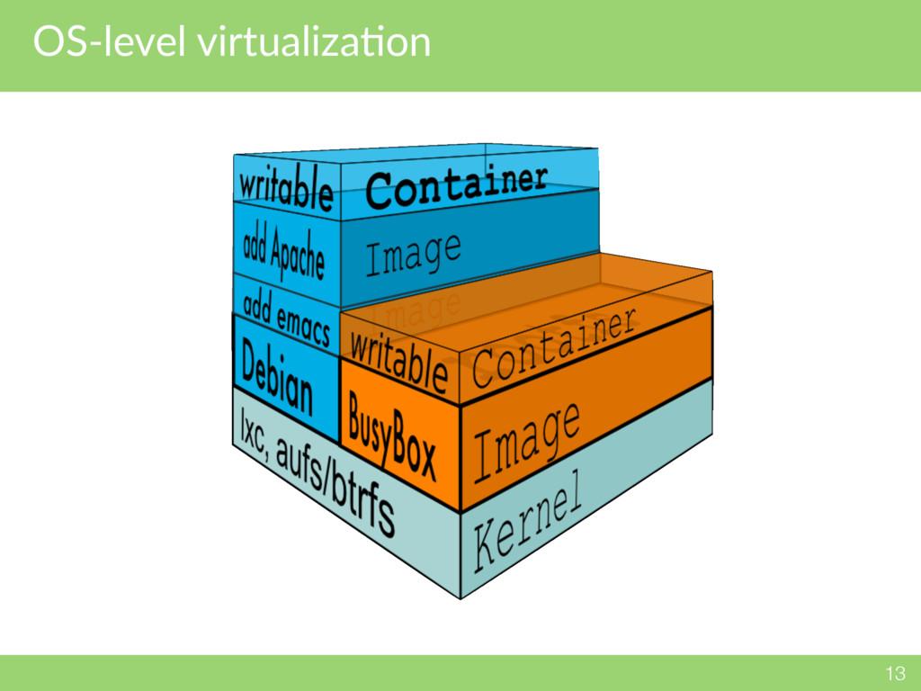 OS-level virtualizaNon 13