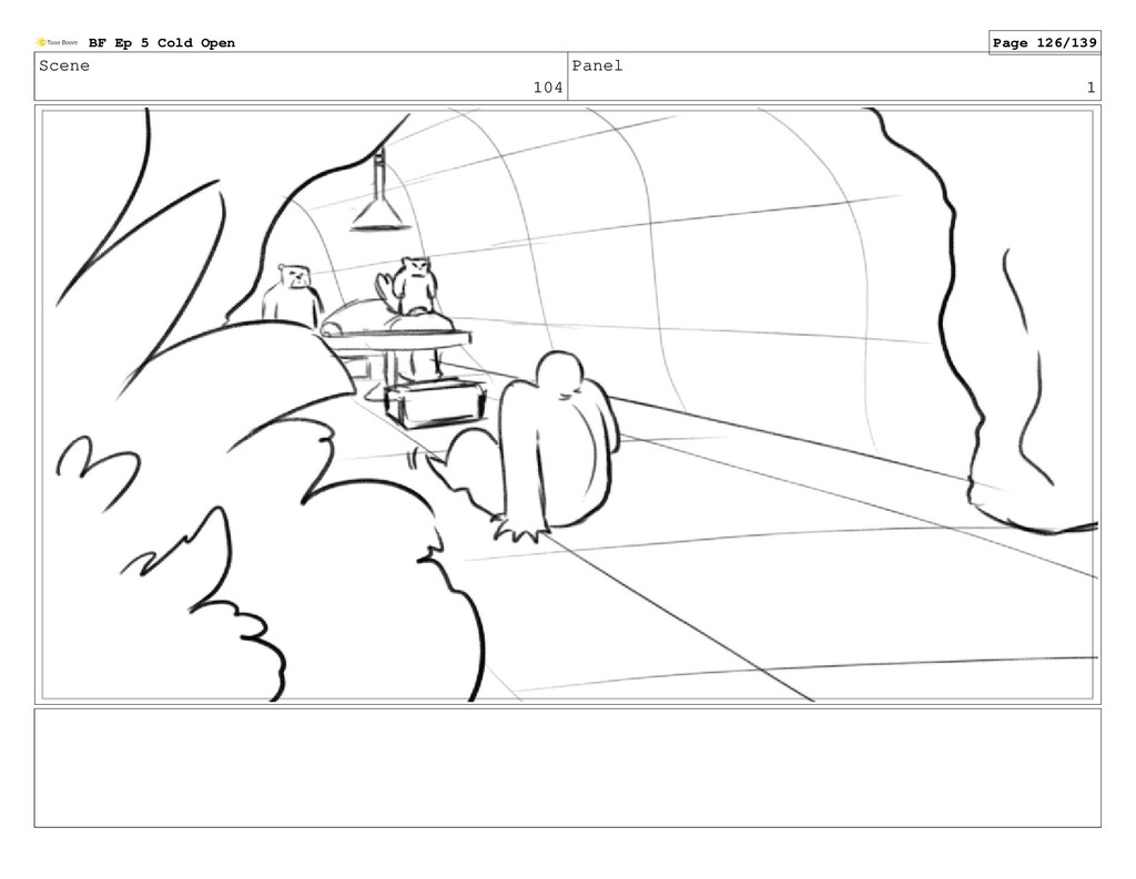 Scene 104 Panel 1 BF Ep 5 Cold Open Page 126/139