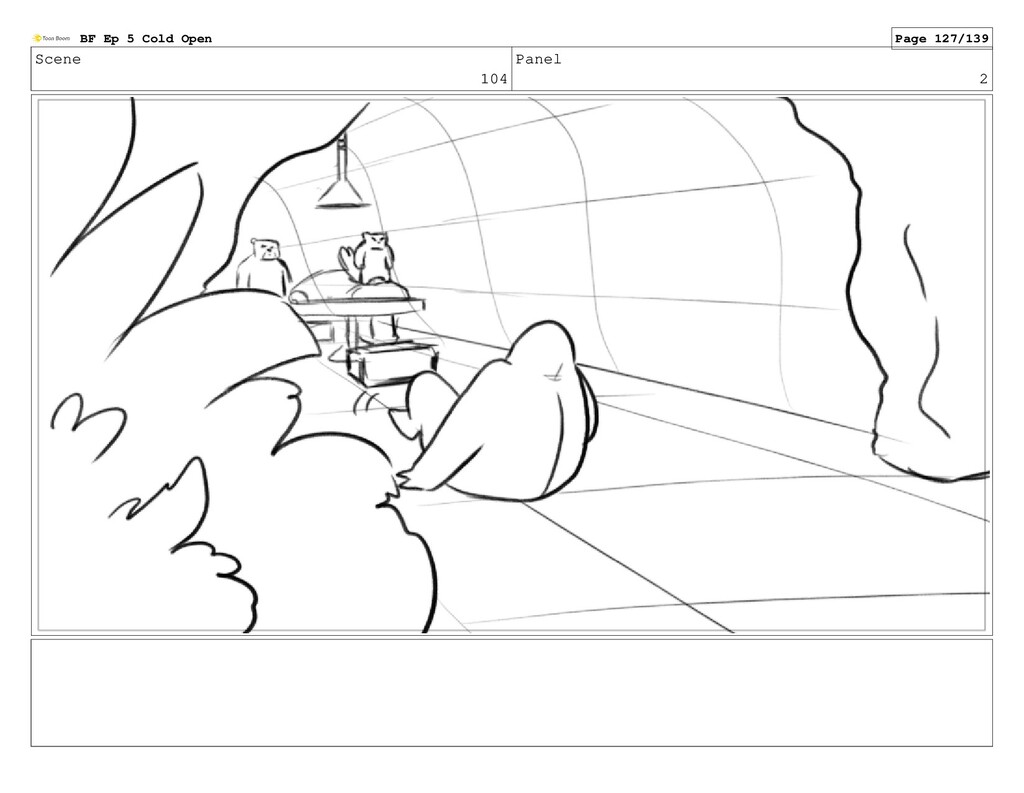 Scene 104 Panel 2 BF Ep 5 Cold Open Page 127/139
