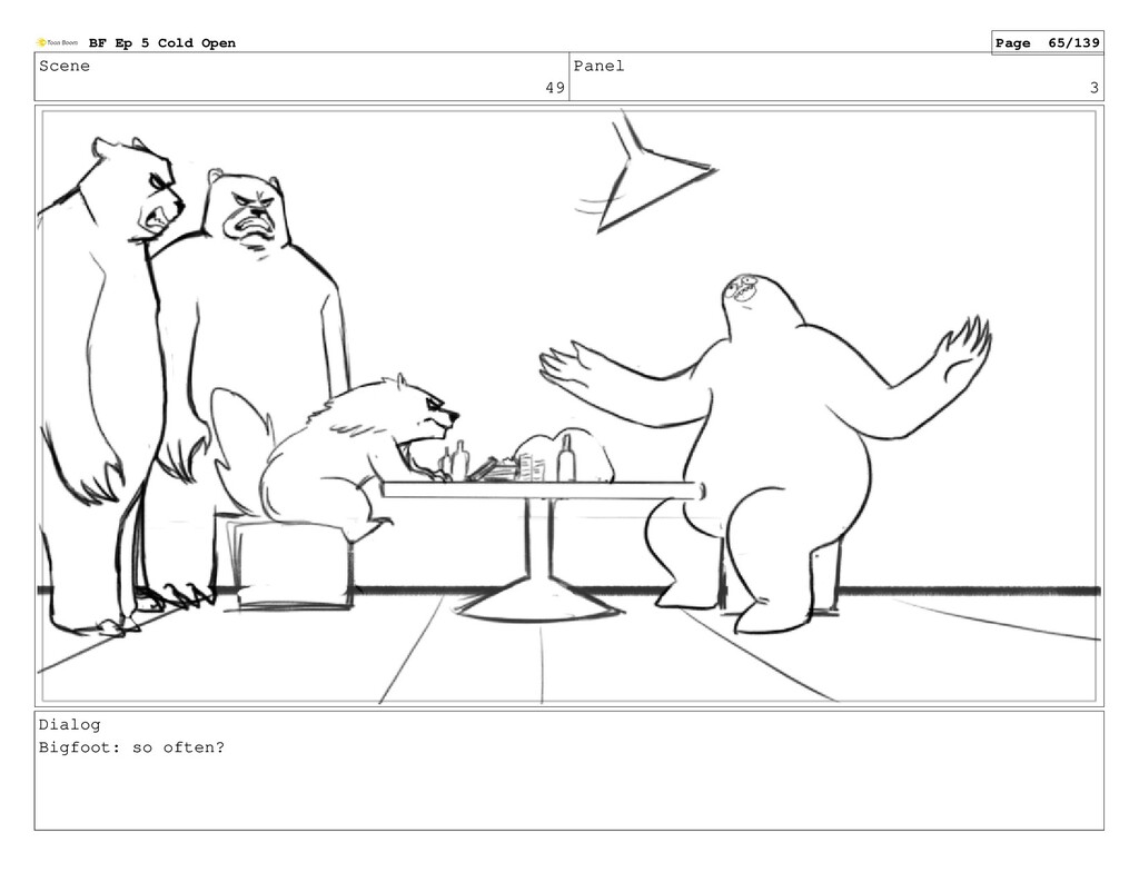Scene 49 Panel 3 Dialog Bigfoot: so often? BF E...
