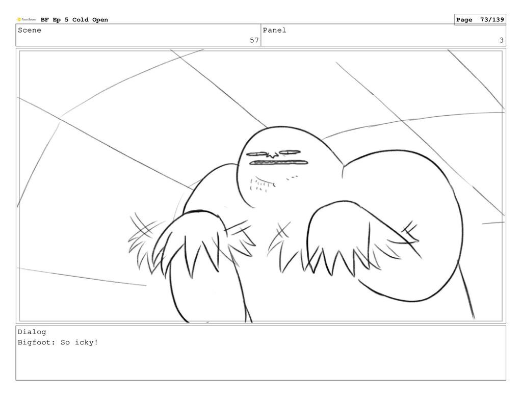 Scene 57 Panel 3 Dialog Bigfoot: So icky! BF Ep...
