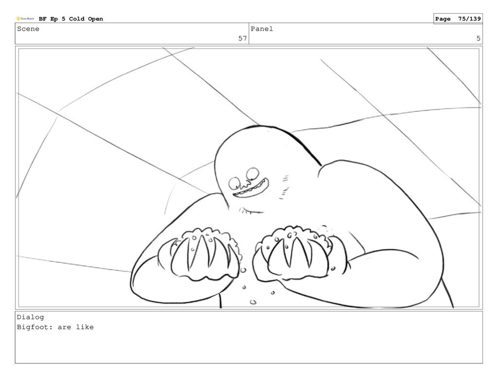 Scene 57 Panel 5 Dialog Bigfoot: are like BF Ep...