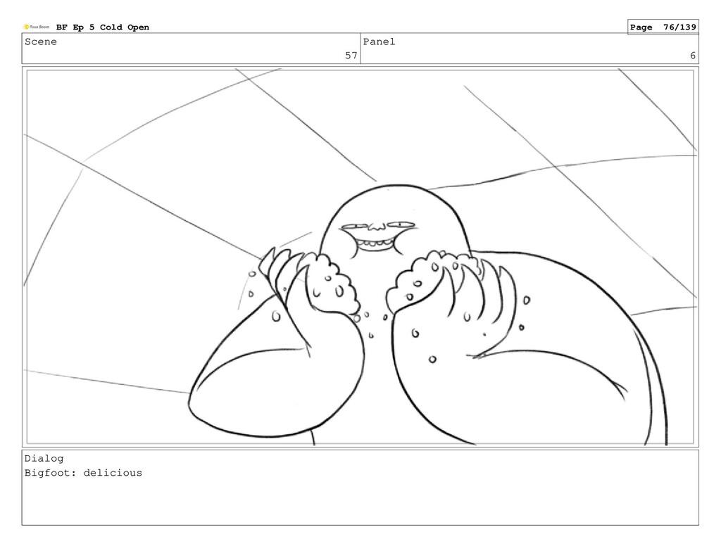 Scene 57 Panel 6 Dialog Bigfoot: delicious BF E...